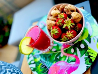 Erfrischender Melonen-Smoothie